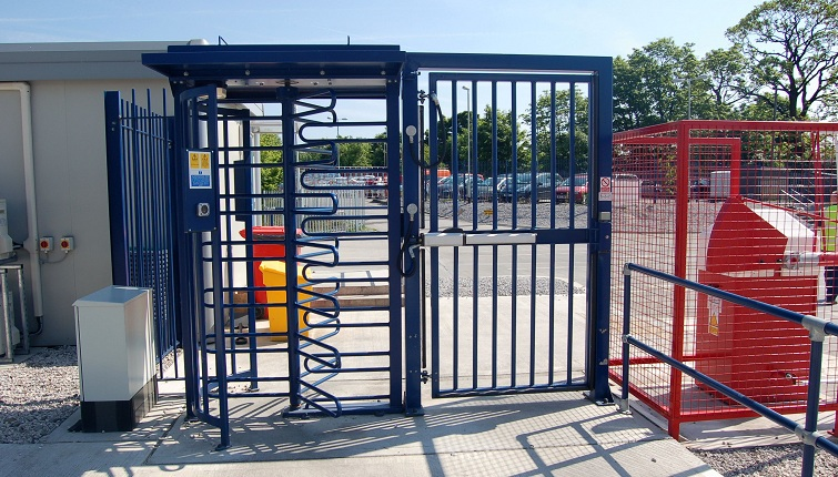 fully automatic pedestrian gate
