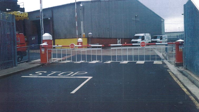 Challenger Barrier at The Tyne Dock, North Shields