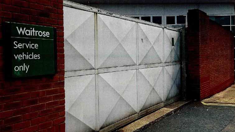 Waitrose Security Gate