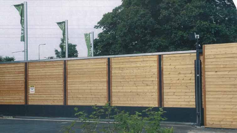 Wooden Infill Gate